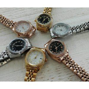 Idee regalo orologio donna in acciaio1