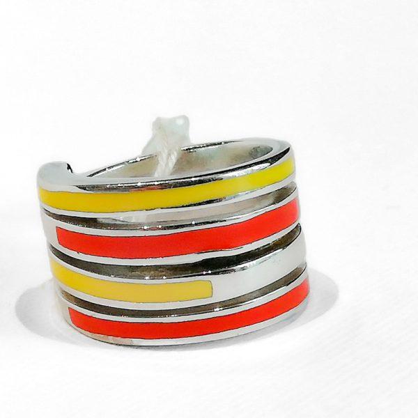 anello in argento e smaltato1